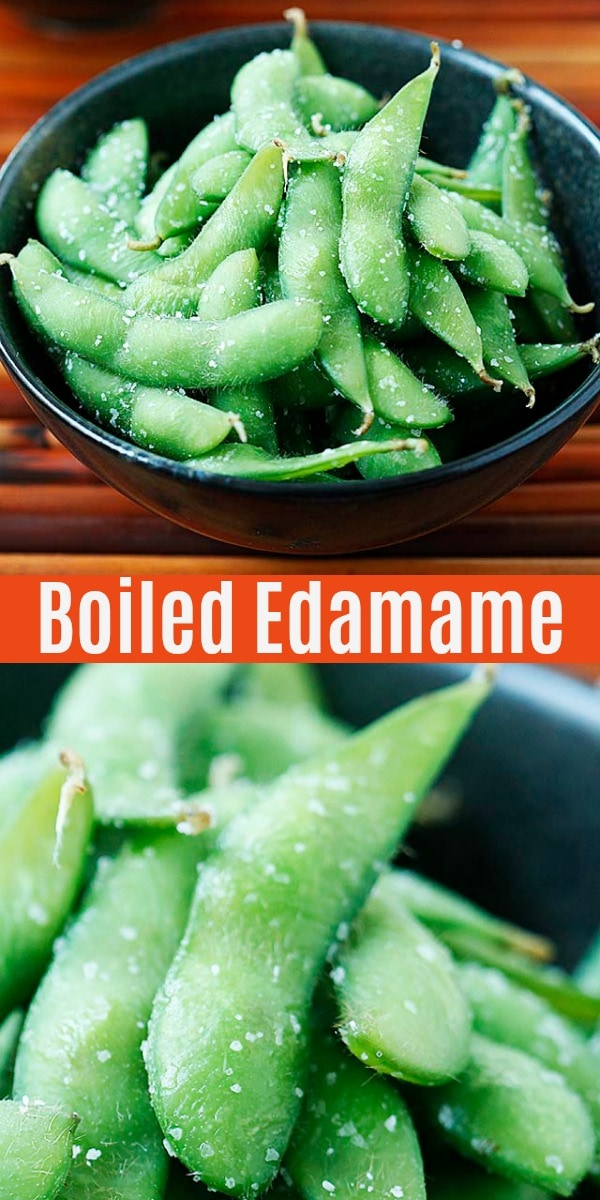 A complete guide to Edamame, with nutrition facts, health benefits, carbs and calories information, including one of the best edamame recipes.