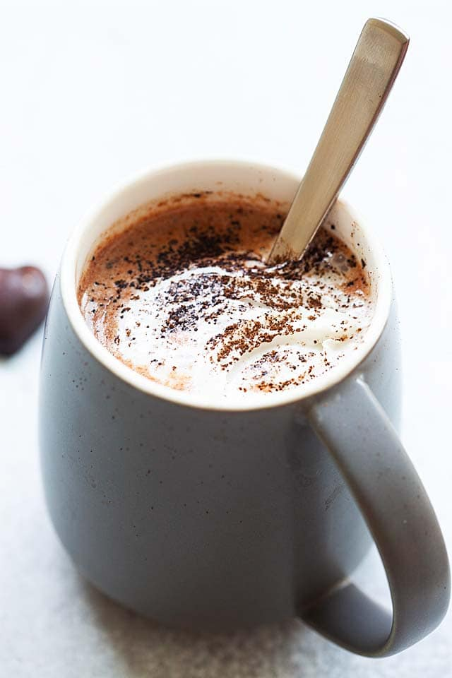 Hot Chocolate Hot Cocoa Recipe Rasa Malaysia