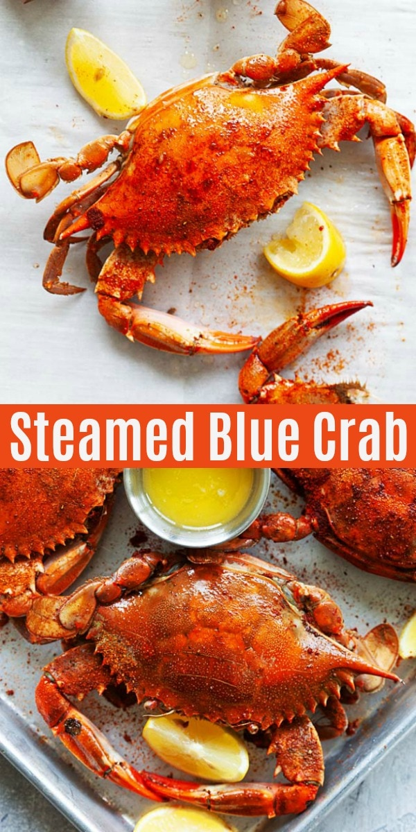 Blue Crab - Maryland steamed blue crab is the best way of cooking Chesapeake Bay crabs. This easy recipe with Old Bay takes 30 mins and so delicious!