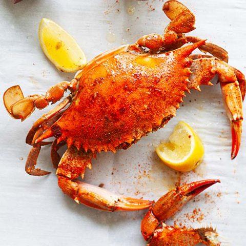 Blue crab.