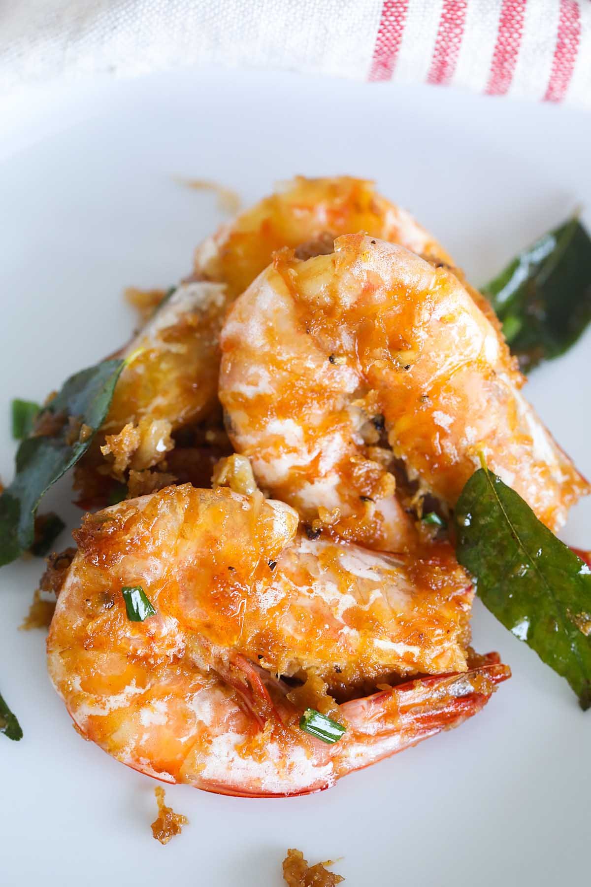 Easy homemade butter prawn recipe.