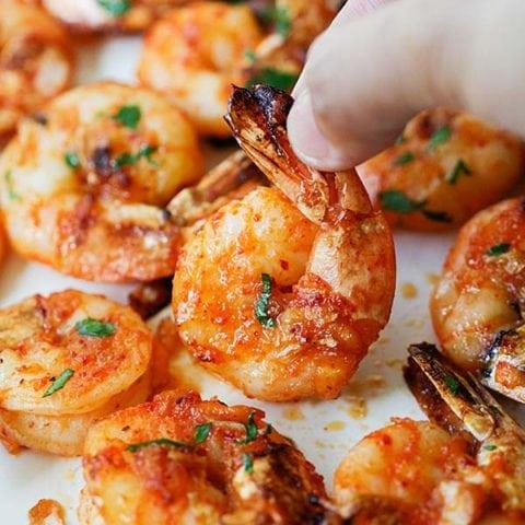 Grilled Shrimp (The Best Recipe)
