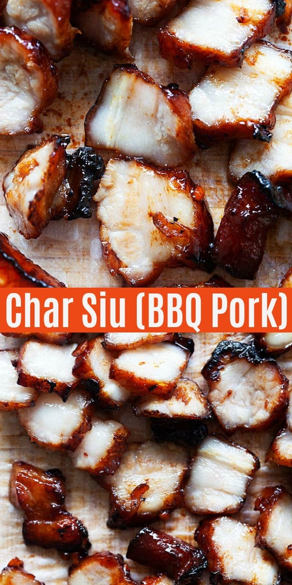 The best Char Siu recipe with perfect Cantonese BBQ char siu pork and sweet char siu sauce . An authentic recipe that tastes just like Chinatown restaurants!