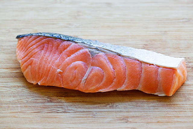 How to cook salmon with salmon fillet.