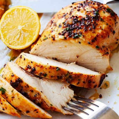 Boneless chicken breasts
