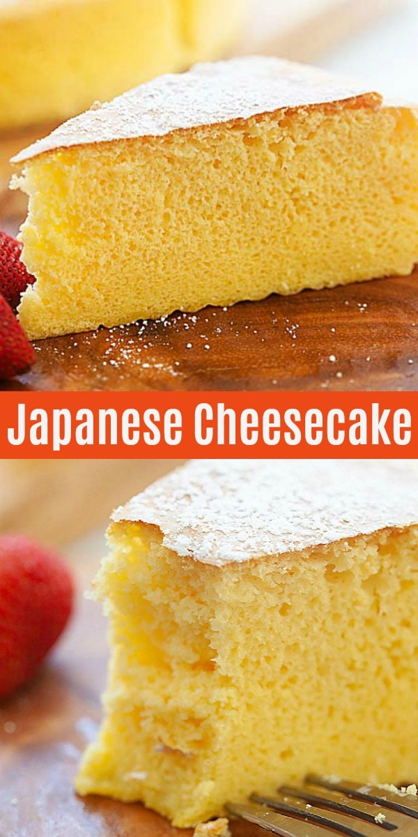 Cotton soft, light, fluffy and the best Japanese cheesecake. This is a tried and tested Japanese cheesecake recipe. A must-bake for cheesecake lovers!