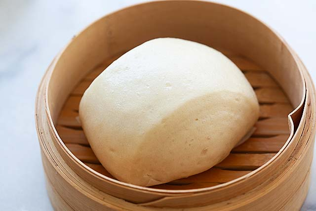 Easy manton recipe yields soft and sweet mantou buns.