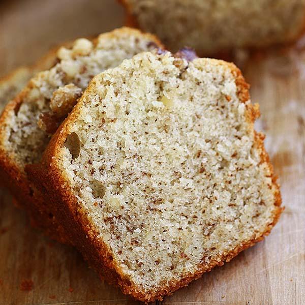 Walnut butter cake.