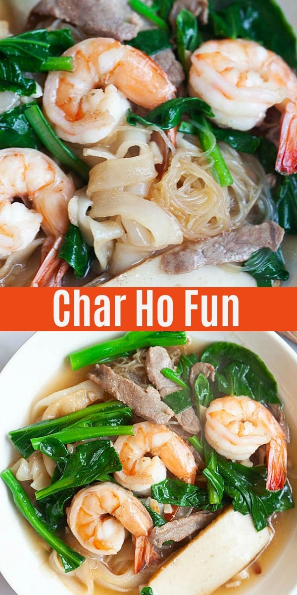 Penang Char Hor Fun (炒河粉) recipe - If you are a bachelor, perhaps you might want to try my recipe and make this dish for your girlfriend. And while you are at it, make some extras for your future parents-in-law, too!