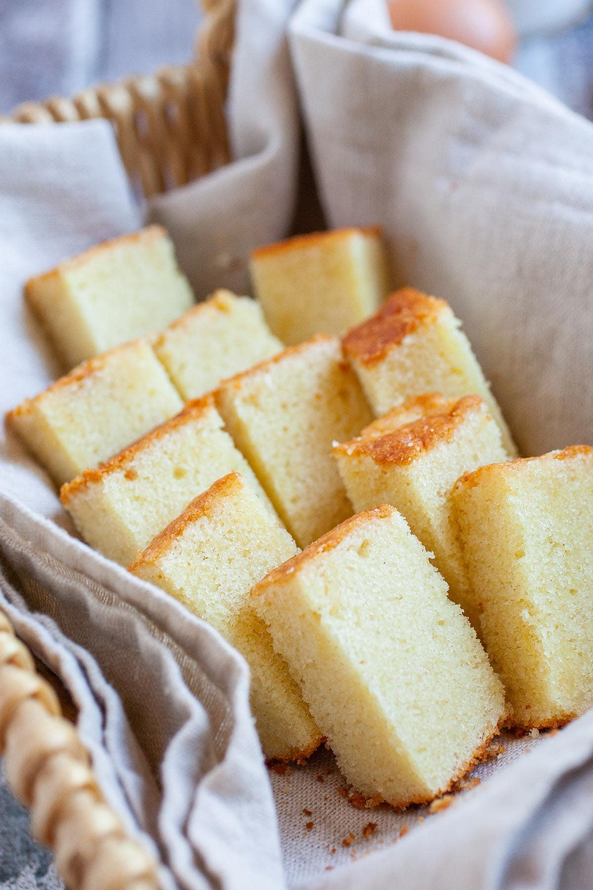 The best butter cake recipe from scratch, made with butter, eggs, flour, milk and sugar.