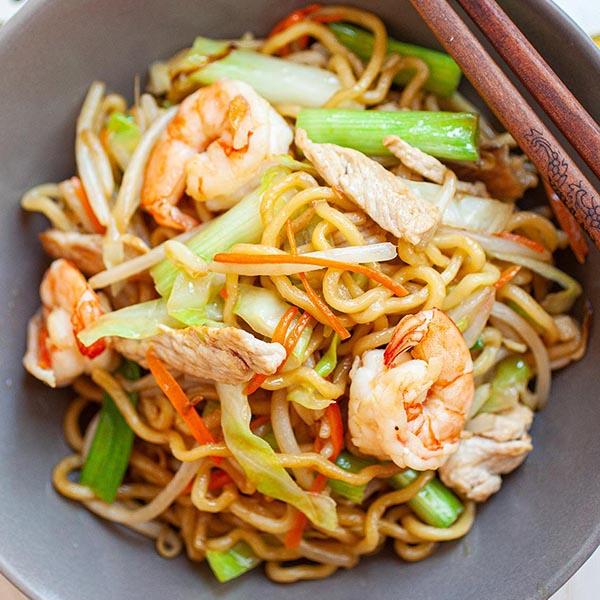 Chow Mein The Best Recipe Online Rasa Malaysia