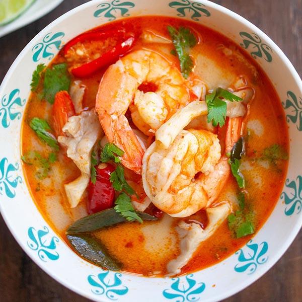 Tom Yum Soup (The Most Authentic Recipe!) - Rasa Malaysia