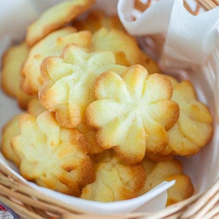 Danish butter cookies.