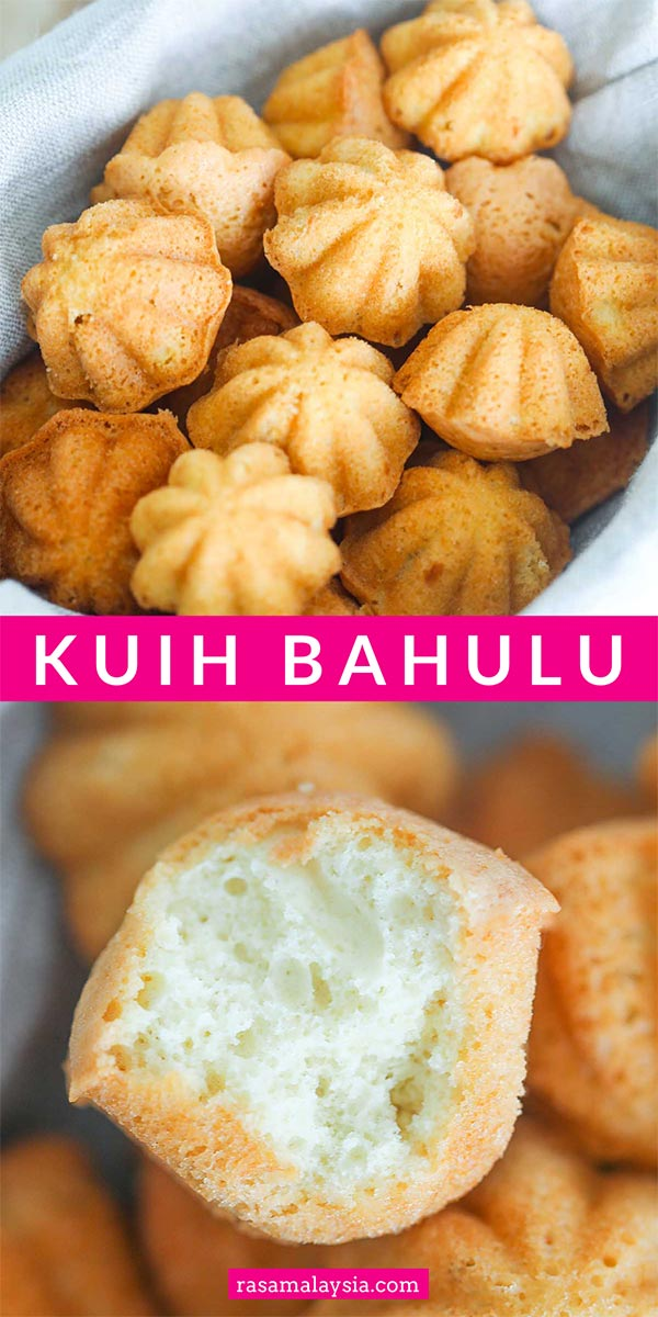 Kuih Bahulu is a traditional Malaysian egg cake. They are dainty, sweet, eggy and must-have for festive seasons. Easy and fail-proof Kuih Bahulu recipe for home bakers.