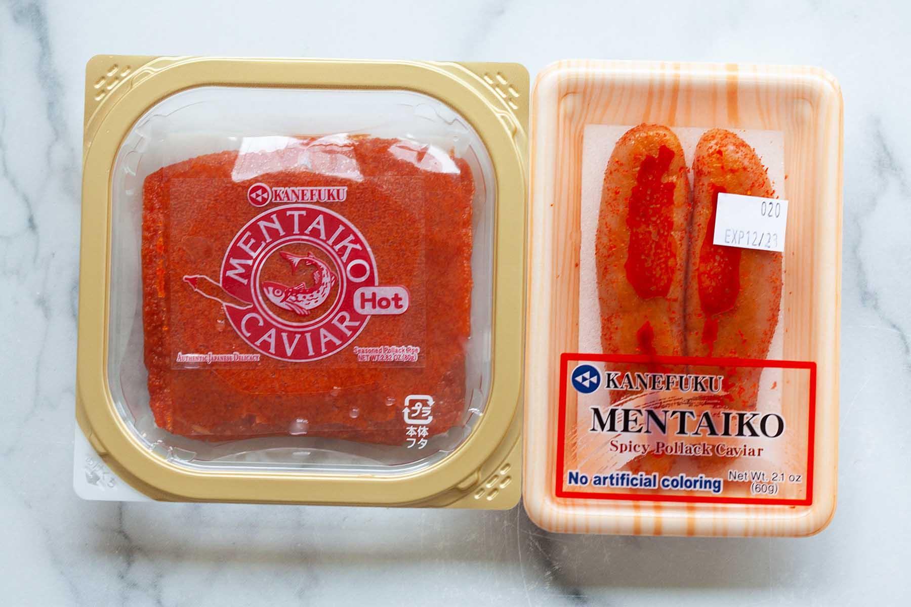Meitako (Spicy pollock cod roe)