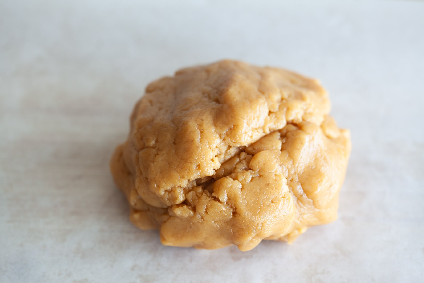 Peanut butter cookie dough.