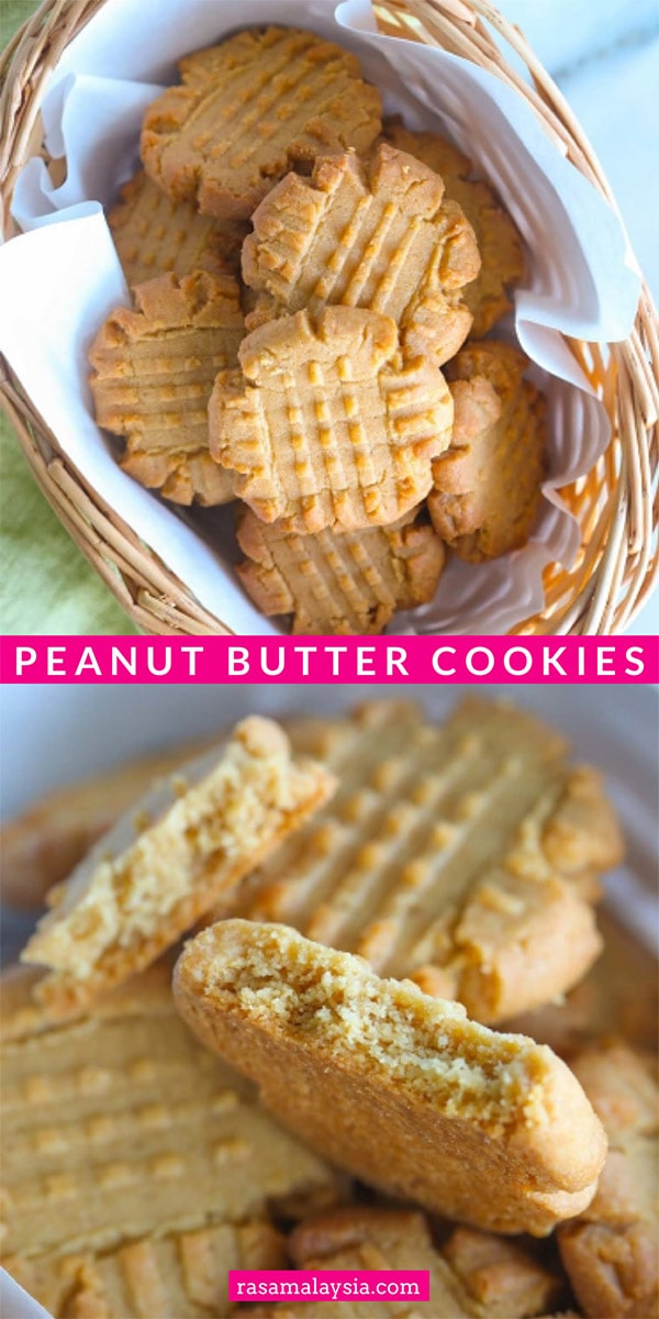 Easy, soft and the best peanut butter cookie recipe! These cookies are loaded with creamy peanut butter and sweetened with brown sugar. Novice baker friendly.