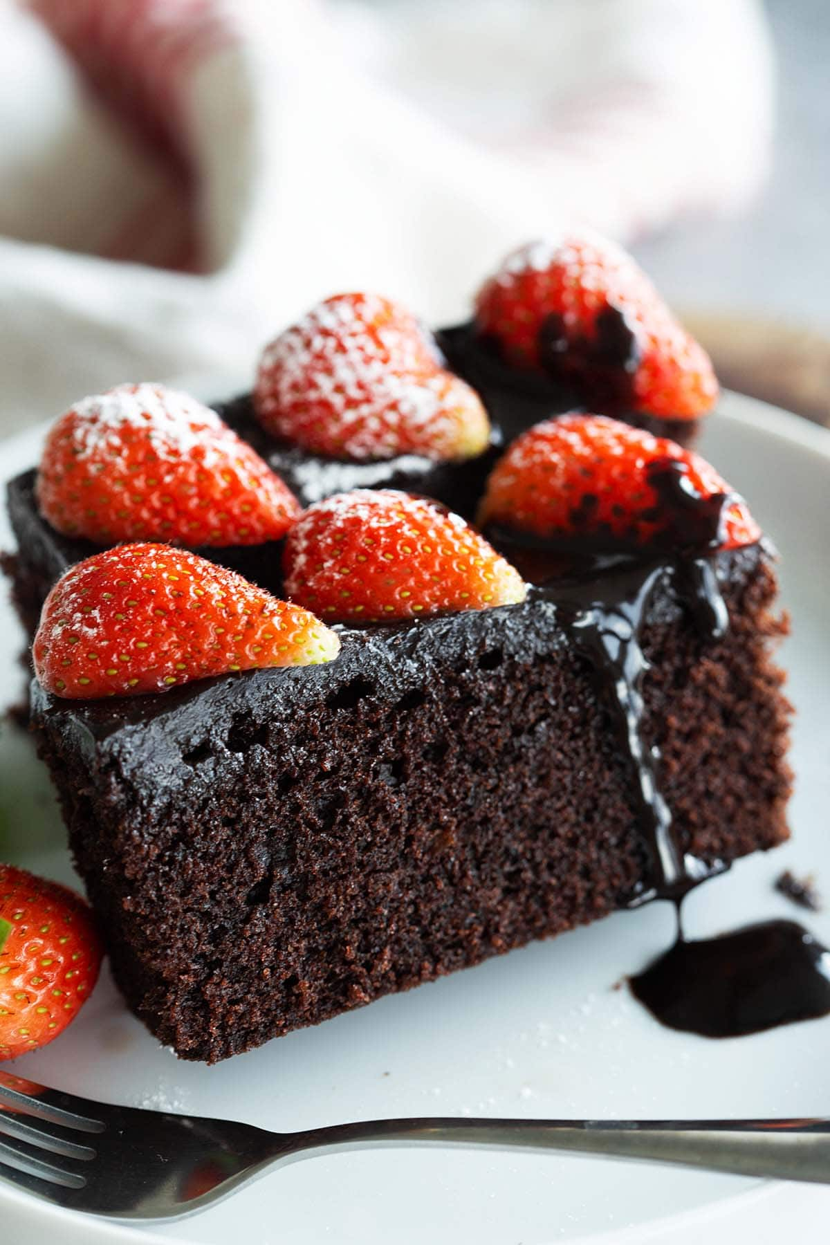 Chocolate cake recipe that is homemade, simple, moist and the best.