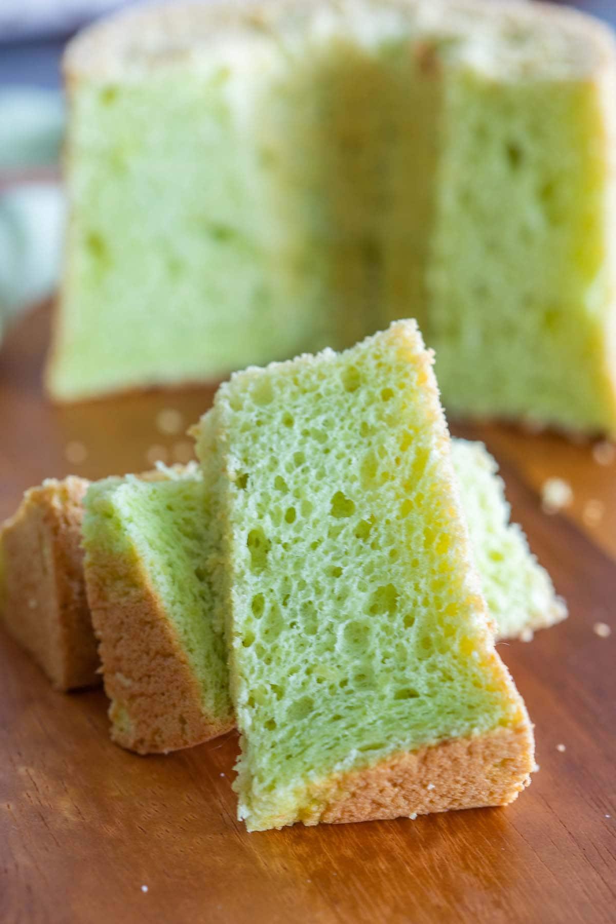 Pandan Chiffon Cake recipe.