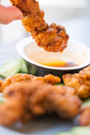 Nashville fried chicken thumb