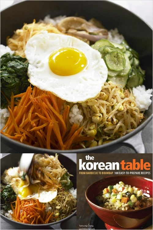 Delicious Korean bibimbap recipe that is super easy to make at home.
