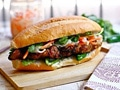 Banh Mi with Lemongrass Pork