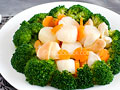 Broccoli and Scallops