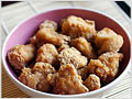 Chicken Karaage (Japanese fried sesame chicken)
