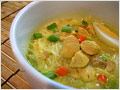 Indonesian Soto Ayam (Chicken Noodle Soup)