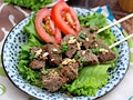 Lemongrass Beef Skewers