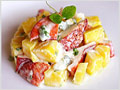Mango and Lobster Salad