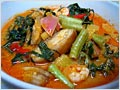 Nyonya Perut Ikan (Nyonya Pickled Fish Stomach with Herbs and Vegetables Curry)