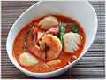 Thai Red Curry with Seafood