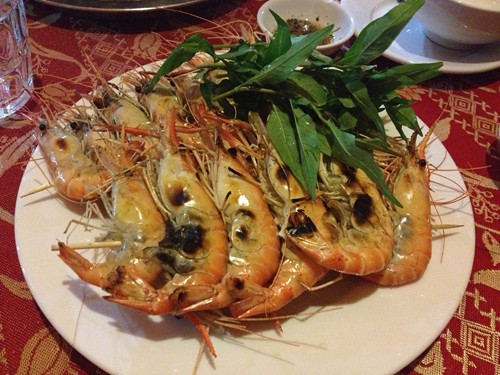 Grilled Fresh Water Prawn