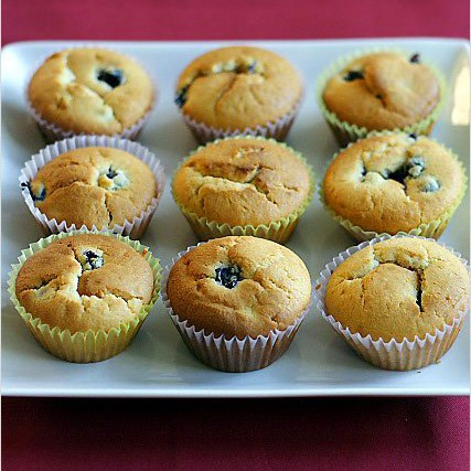 Fresh from the Oven Blueberry Muffins