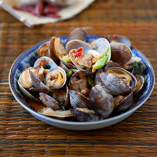 Chili Clams