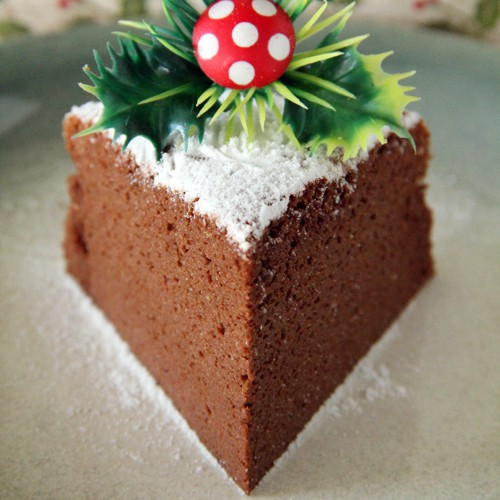 Chocoalte Souffle Cheesecake