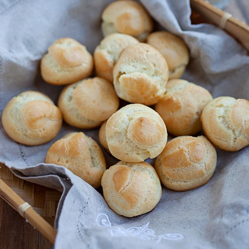 Choux Pastry (Pate a Coux)