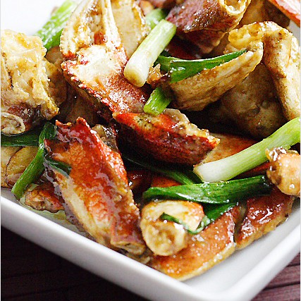 Ginger and Scallion Crab