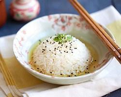 Green Tea Rice with Oi Ocha Shincha