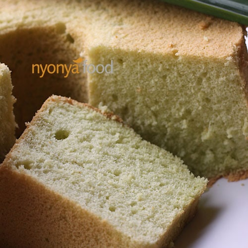 Lemon Chiffon Cake Recipe - lemony essence and pillowy soft texture. | rasamalaysia.com