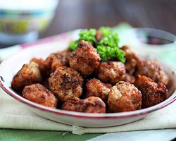 Fried Meatballs