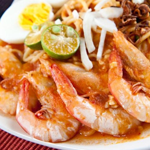 Mee Udang (Malay Prawn Noodle)