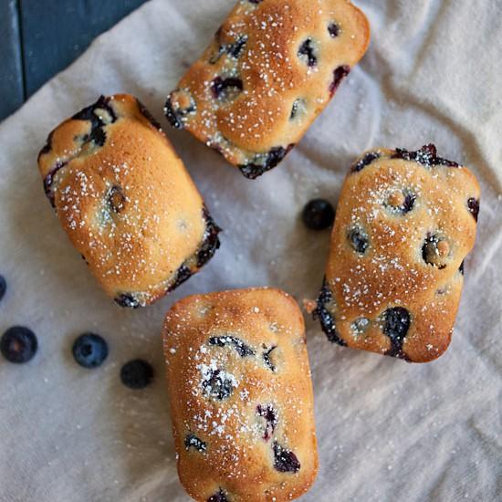 Mini Blueberry Cake