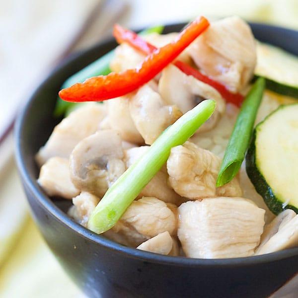 Chinese Mushroom Chicken