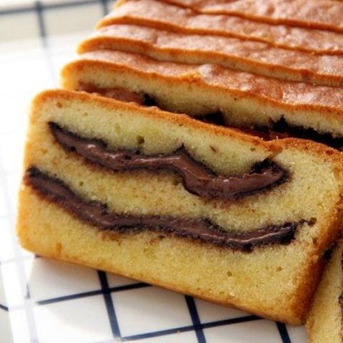 Nutella Pound Cake