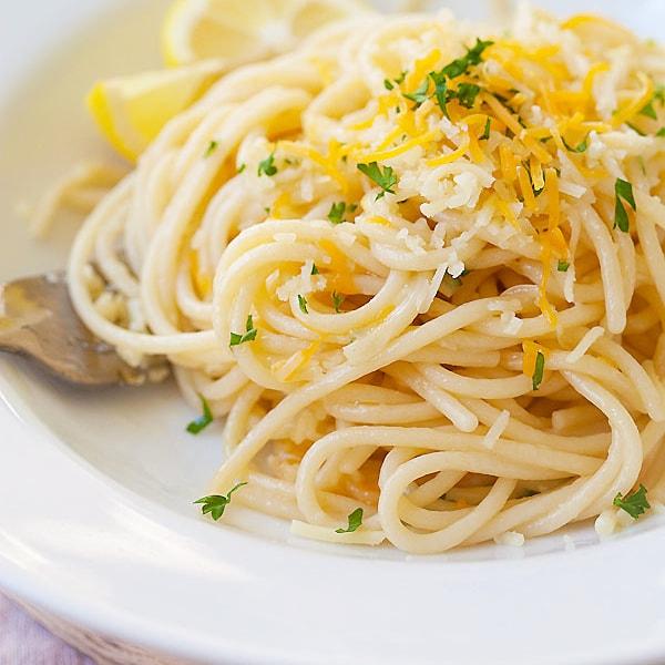 Parmesan Garlic Noodles