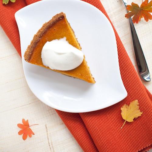 Kabocha Pumpkin Pie – make a twist to your pumpkin pie this year with kabocha pumpkin which is sweeter and better | rasamalaysia.com