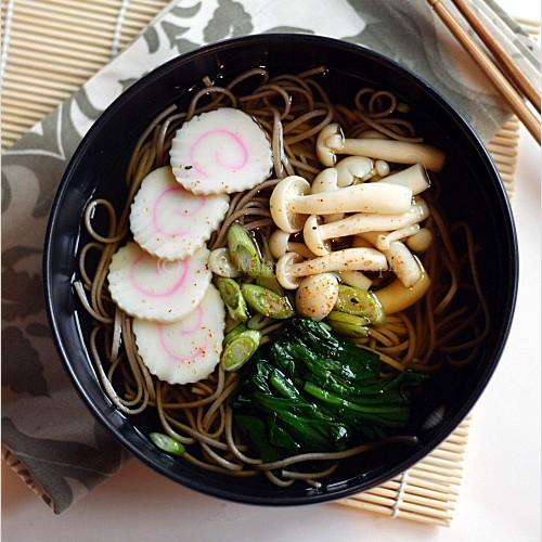 Soba (Japanese Buckwheat Noodle)