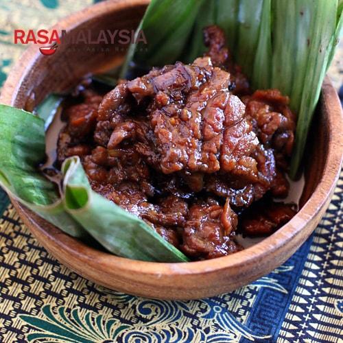 Danging Masak Kicap (Soy Sauce Beef)